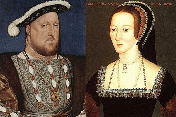 Henrique VIII e Ana Bolena
