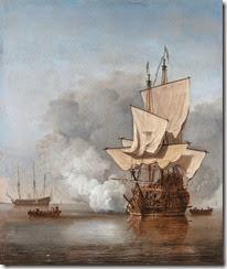 640px-Het_Kanonschot_-_Canon_fired_(Willem_van_de_Velde_II,_1707)