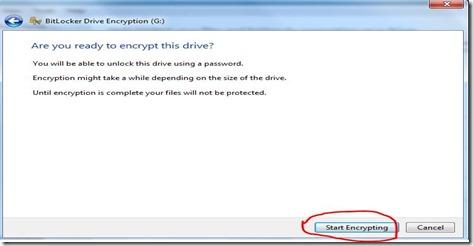 encrypt usb