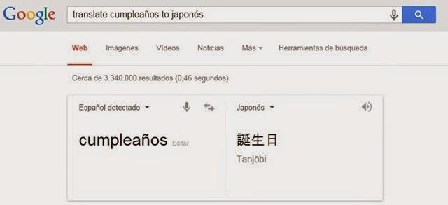 #5. Traduce palabras en otros idiomas