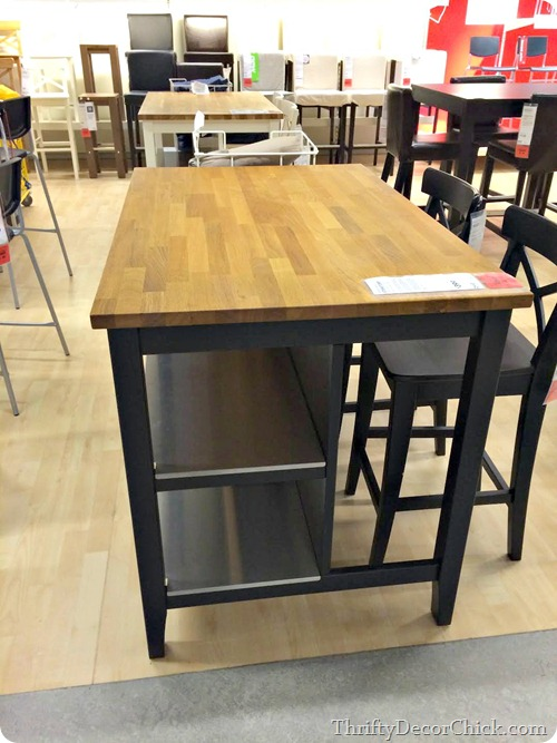 Fun ikea finds from thrifty decor chick for Ikea butcher block table