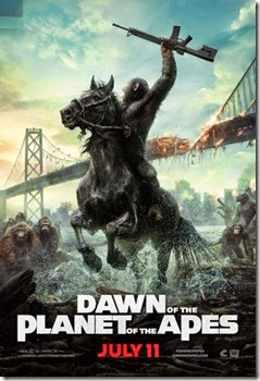 Dawn of the Planet of the Apes - New Promotional Poster