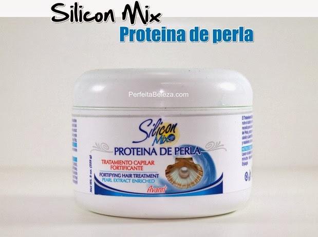 silicon mix proteina de perla, vitrine jovem, perfeita beleza
