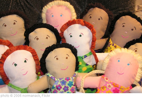 'doll faces' photo (c) 2006, normanack - license: http://creativecommons.org/licenses/by/2.0/