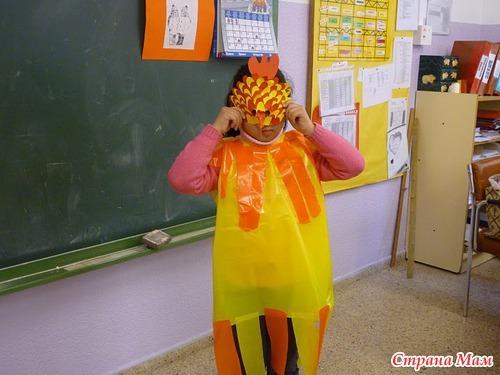 disfraz de pajaro bolsa de basura (4)