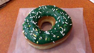 緑のドーナツ