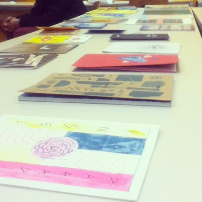 oficina no IED no período do design weekend