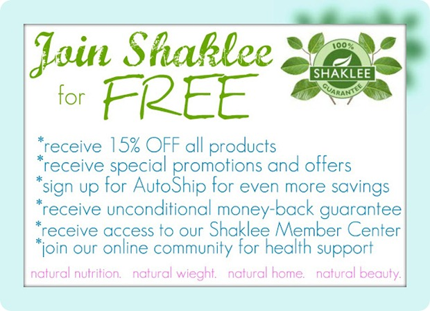 join Shaklee for free