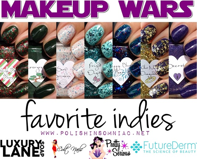 Makeup Wars Favorite Indies