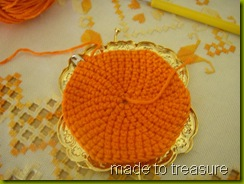 crochet coin purse - step 2