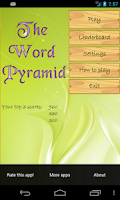 Screenshot of The Word Pyramid