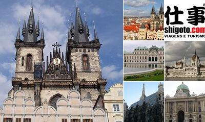 Exibir Viena, Budapeste e Praga