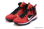 lbj9 fake colorway miamiheat 1 02 Fake LeBron 9