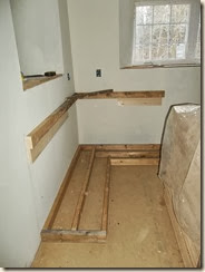 My Construction Method Involves Using 2x4u0027s To Frame The Toe Kick (with  Some 3/4u201d Plywood To Raise It The Level Of The Finished Floor).