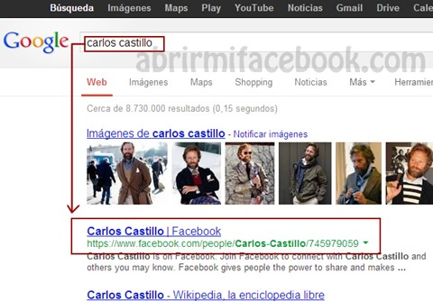 facebook google eliminar