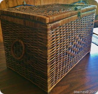 June 28 wicker box
