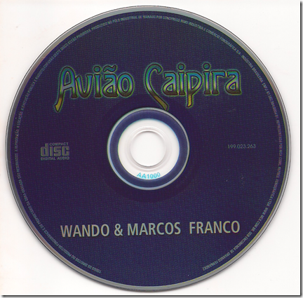 Wando e Marcos Franco CD