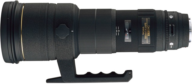 Sigma 500mm f4.5