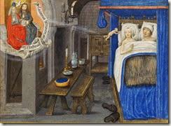 Une procréation assistée…par le Ciel, Traité divers, Paris, Bibliothèque de l'Arsenal,ms 5206, folio 174 (XVe siècle)