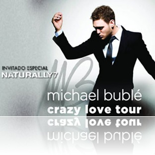 michael buble en mexico 2011