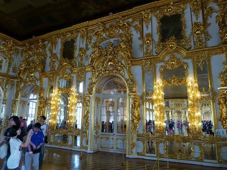 Interior Palat Tsarskoe Selo