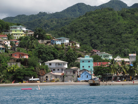 St. Lucia: A traditional village