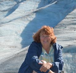 Sue at Exit Glacier