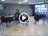 Video - Kai and his Takanawa kindergarten classmates singing the school song.