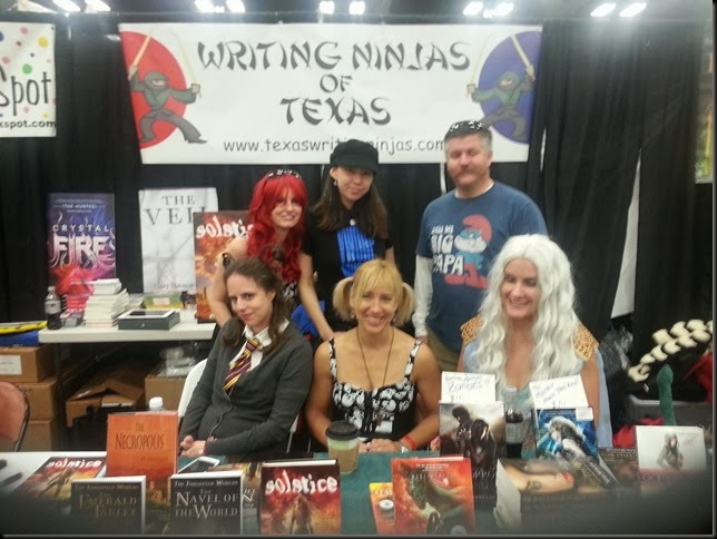 Grp shot at Austin Comic Con 2013