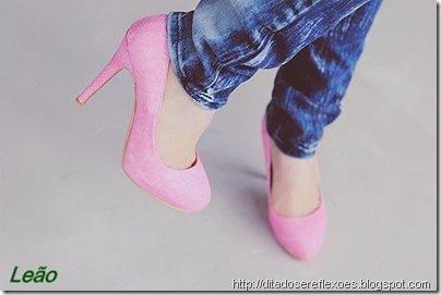 sapatos dos signos  - leão