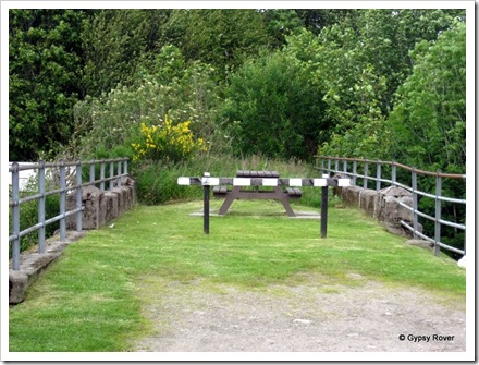 Bridge to nowhere. All that remains of the Glengarry to Fort Augustus railway.