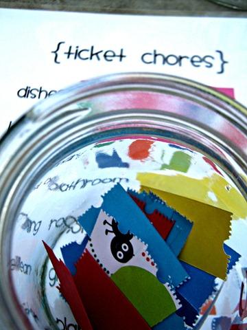 ticket chores