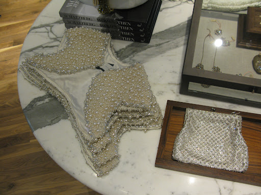 How great is this pearl beaded shrug?