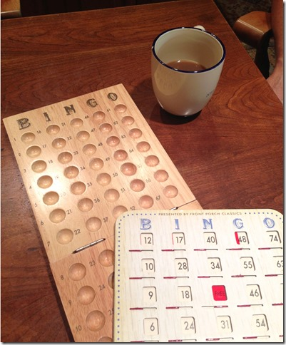 Coffee and bingo