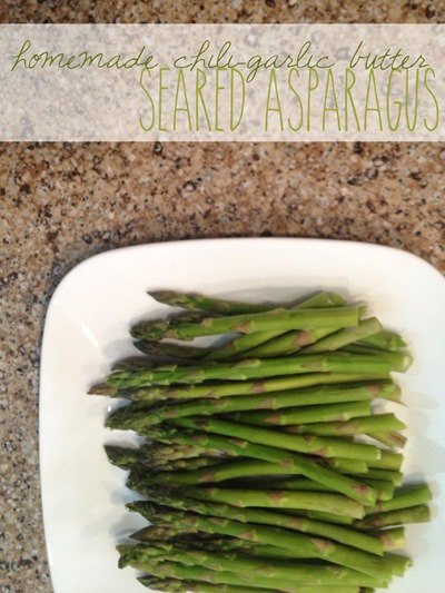 Chili Garlic Asparagus