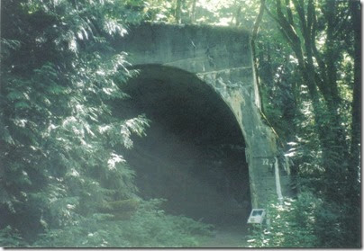 Concrete Arch at Tunnel 15.1 on the Iron Goat Trail in 2000