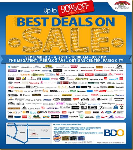 TIB: Megatent September Sale 9.4.11