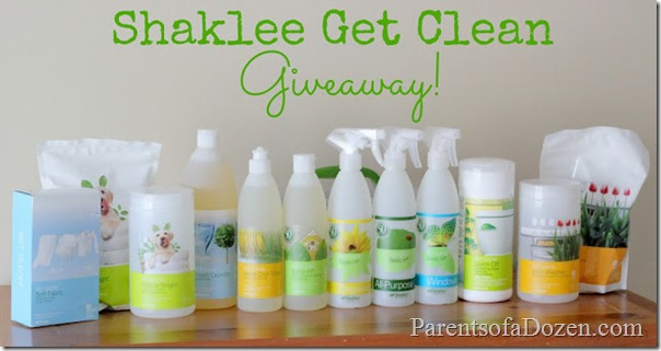 Shaklee Get Clean Giveaway 2 DYI on the Cheap