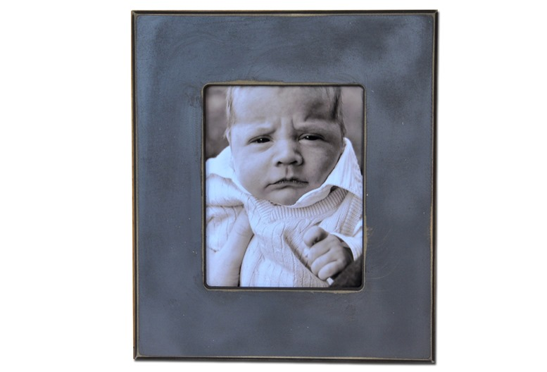 Blue Rectangle Frame