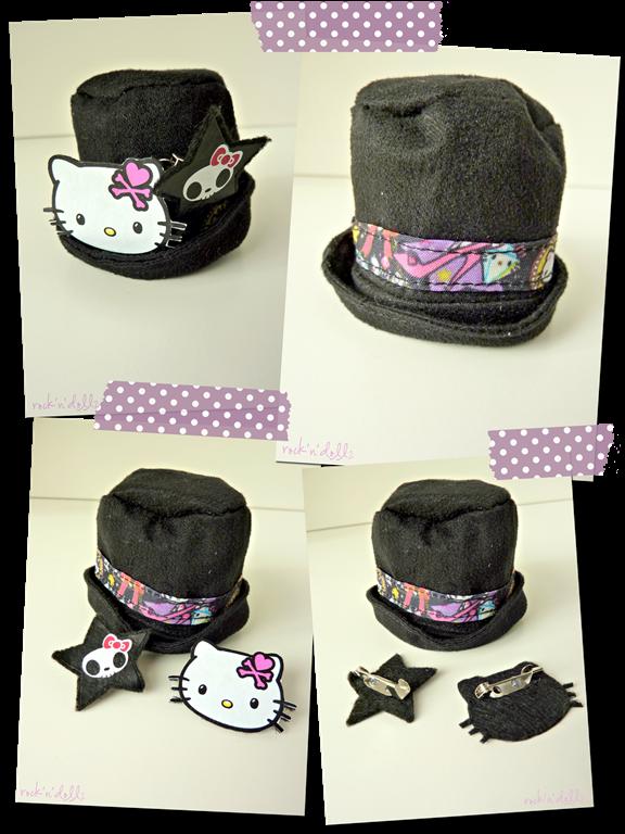 pullip tokidoki x hello kitty violetta sombrero review