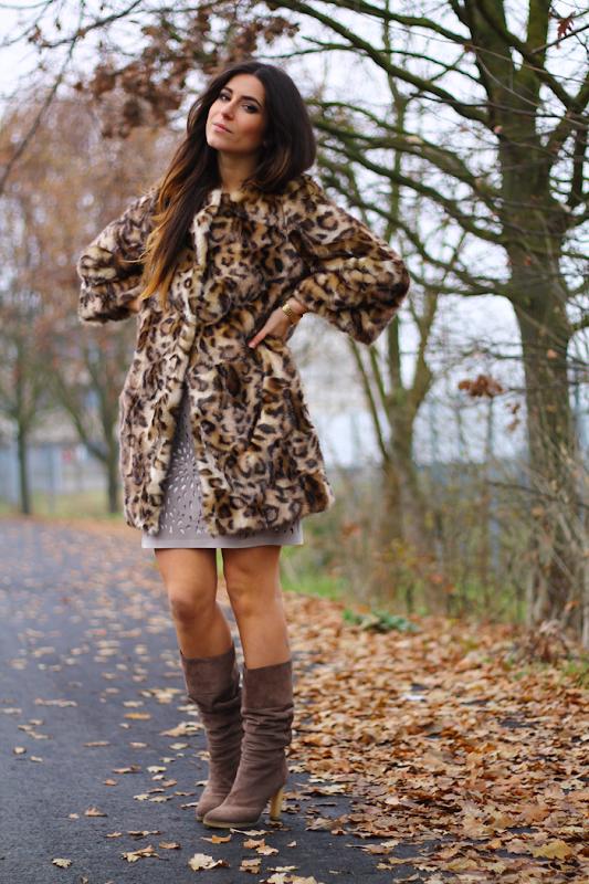 cappotto leopardato