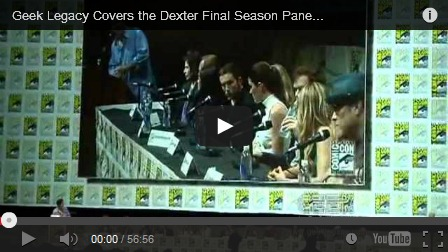 Dexter last comic con panel sdcc 2013