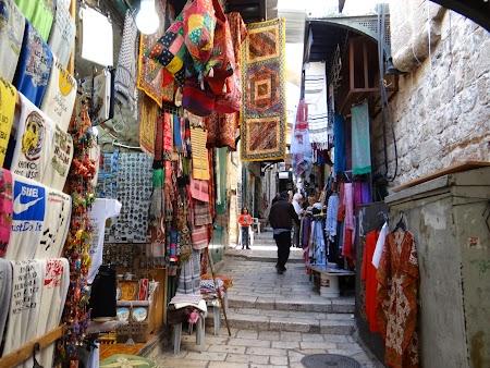 Obiective turistice Ierusalim: Bazar Via Dolorosa