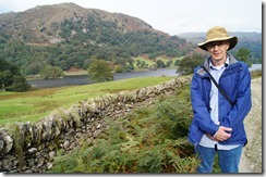 rydal water walk Mr. M by water