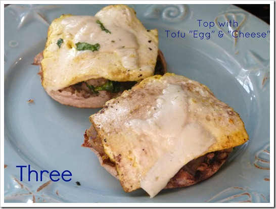 three tofu egg