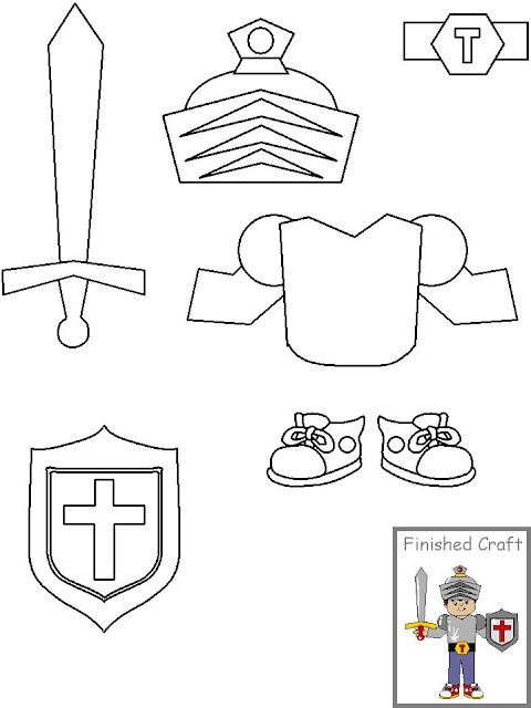recortable ni u00d1o caballero ni u00d1o con armadura