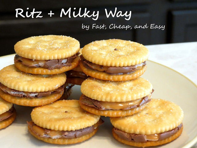 ritz milky way fast cheap and easy