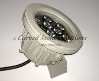 24V 9W Housed UW Warm White LED Light
