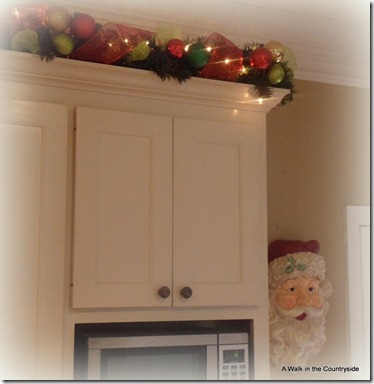 a walk in the countryside - christmas in the kitchen