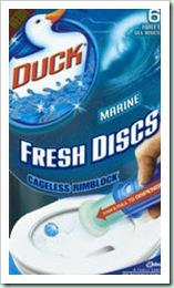 toilet duck discs